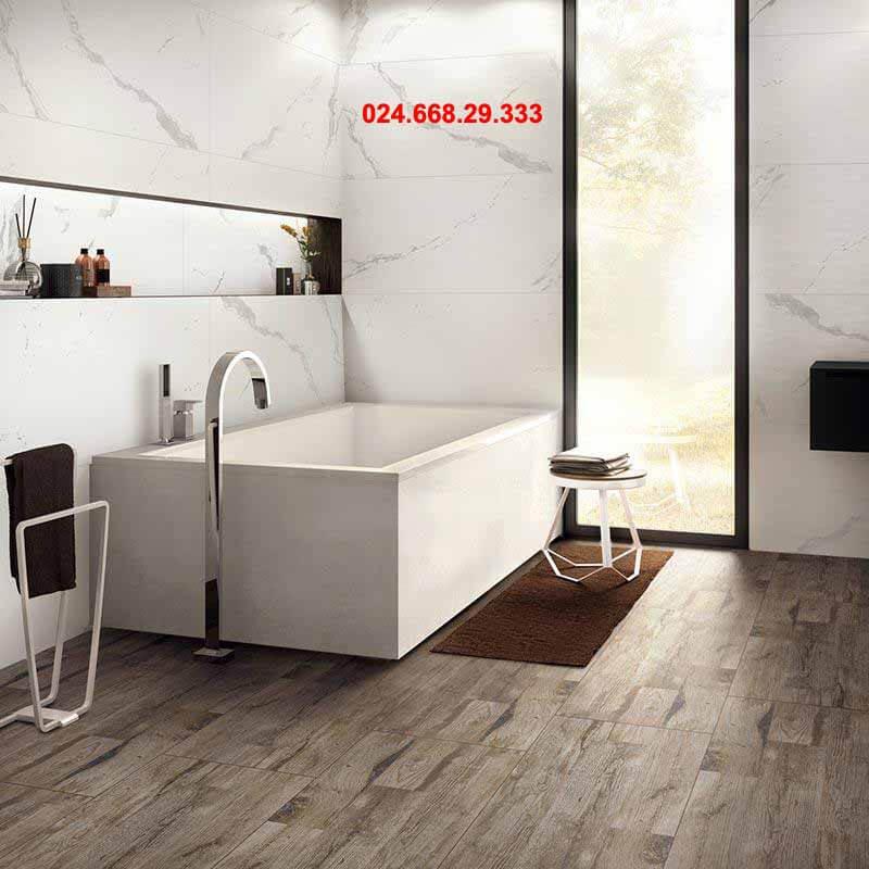 gạch ốp tường 60x120 mã 612013 ốp phòng tắm