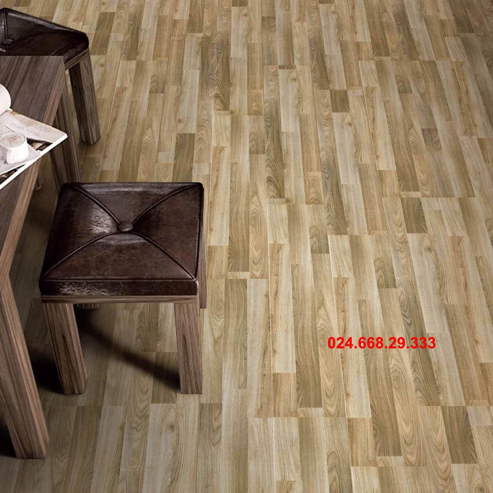 gạch giả gỗ 20x100 mã 2021 lát phòng khách 1