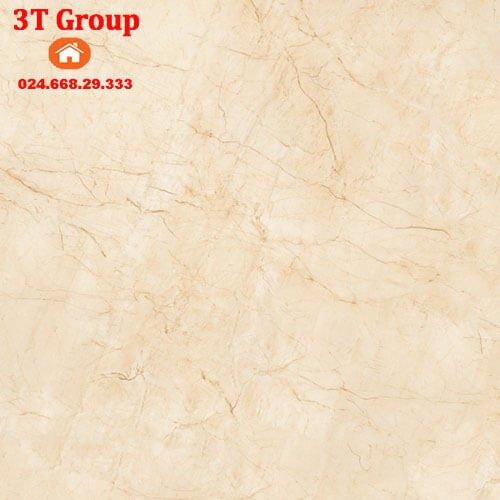 gạch 60x60 prime 9856 vân đá màu vàng lông gà non