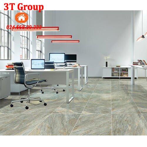 gạch 60×60 viglacera granite ECO 621 lát phòng làm việc