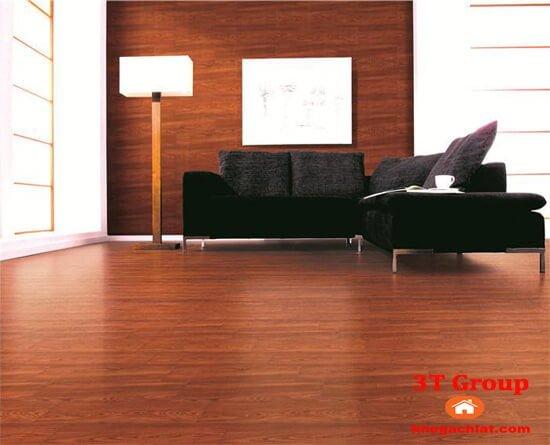 gạch giả gỗ 15x80 880 phối cảnh phòng khách