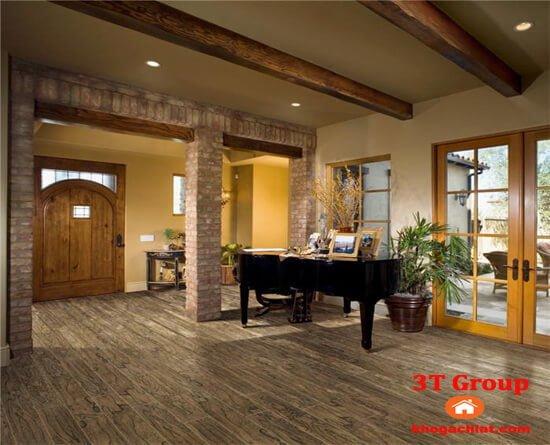 gạch giả gỗ 15x90 9013 lát phòng khách